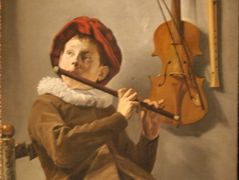 Two musicians - Judith Leyster   AllPanters org
