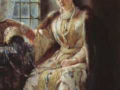 Boyar's Wife at the Window – Konstantin Makovsky