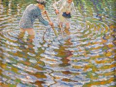 Boys Catching Fish – Nikolay Bogdanov-Belsky
