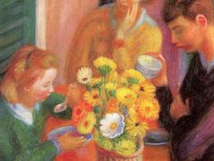 Breakfast Porch – William James Glackens