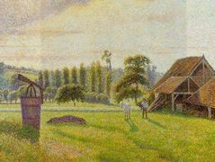 Brickworks at Eragny – Camille Pissarro