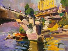 Bridge in Saint Cloud – Konstantin Korovin