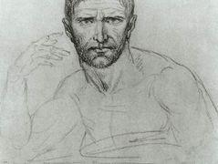 Unfinished Portrait Of General Bonaparte Jacques Louis David