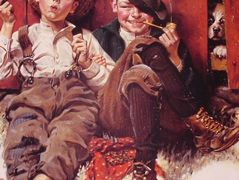 But wait 0til next week – Norman Rockwell
