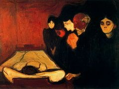 By the Deathbed (Fever) – Edvard Munch