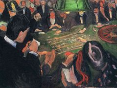 By the Roulette – Edvard Munch