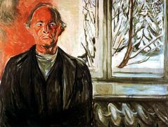 By the Window — Edvard Munch