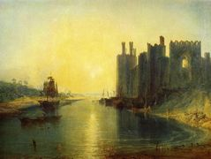 Caernarvon Castle – William Turner