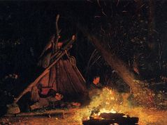 Camp Fire – Winslow Homer