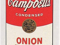 Campbell's Soup Can (onion) — Andy Warhol