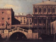 Capriccio: The Ponte della Pescaria and Buildings on the Quay – Canaletto