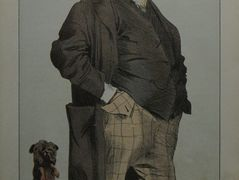 Caricature of Henry Cole – James Tissot