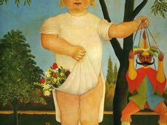 Child with a Puppet  – Henri Rousseau