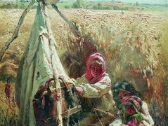 Children in a Field – Konstantin Makovsky