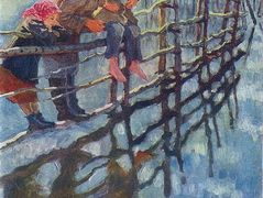 Children on a Fence – Nikolay Bogdanov-Belsky