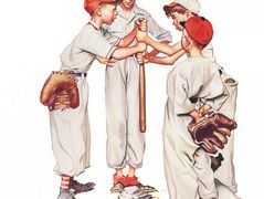 Choosin Up – Norman Rockwell
