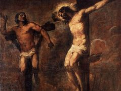 Christ and the Good Thief – Titian