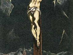 Christ in Agony on the Cross — El Greco