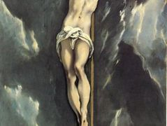 Christ on a cross  — El Greco