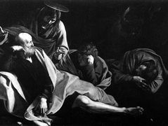 Christ on the Mount of Olives — Caravaggio