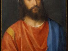 Christ with Globe — Titian