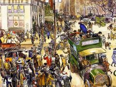 Christmas Shoppers – William James Glackens