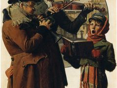 Christmas Trio — Norman Rockwell