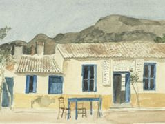 Coffee-house at Porto Rafti  – Yiannis Tsaroychis