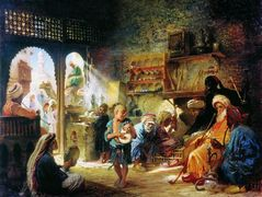 Coffee House in Cairo – Konstantin Makovsky