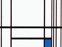 Composition with Blue — Piet Mondrian