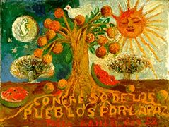 Congress of Peoples for Peace – Frida Kahlo