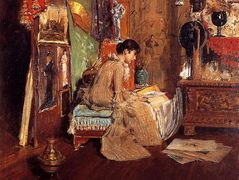 Connoisseur – The Studio Corner – William Merritt Chase