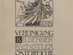 Cover design of the first publication of the Association of Austrian Artists Secession – Koloman Moser