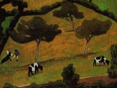 Cows in a Meadow – Roger de La Fresnaye