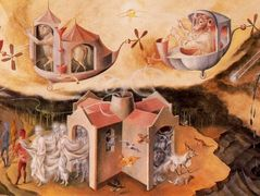 Creation of the world or microcosm – Remedios Varo