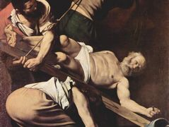 Crucifixion of Saint Peter – Caravaggio