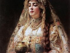 Cup of honey – Konstantin Makovsky