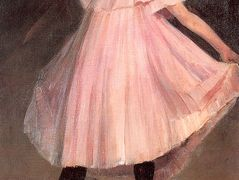 Dancer in a pink dress – William James Glackens