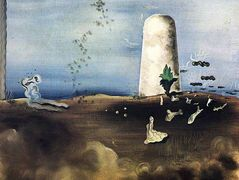 Death Awaiting his Family – Yves Tanguy
