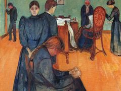 Death in the sickroom – Edvard Munch