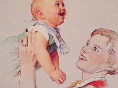 Delight — Norman Rockwell