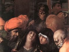 Deposition from the Cross (detail) – Rosso Fiorentino