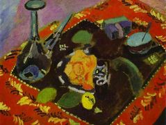 Dishes and Fruit  – Henri Matisse
