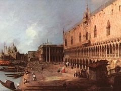 Doge's Palace – Canaletto