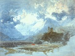 Dolbadern Castle – William Turner
