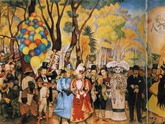 Dream of a Sunday Afternoon in Alameda Park — Diego Rivera