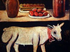 Easter lamb on Easter table – Niko Pirosmani