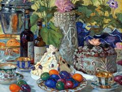 Easter Table – Nikolay Bogdanov-Belsky