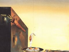 Eggs on Plate without the Flat – Salvador Dali
