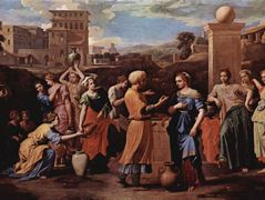 Eliezer and Rebecca at the Well – Nicolas Poussin